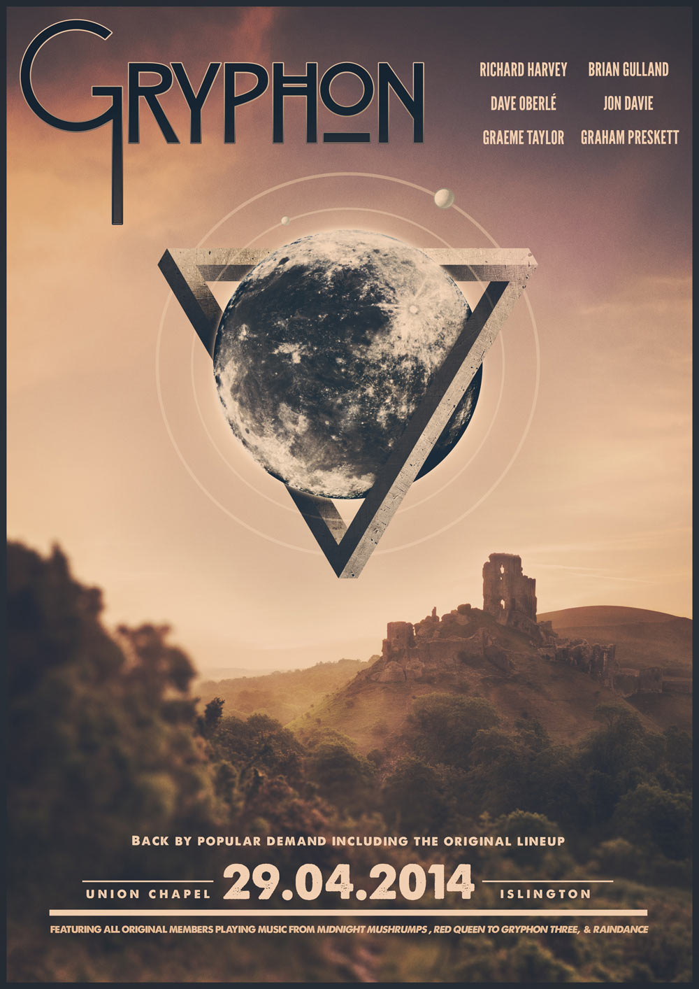 Poster design music - Tour Poster Design