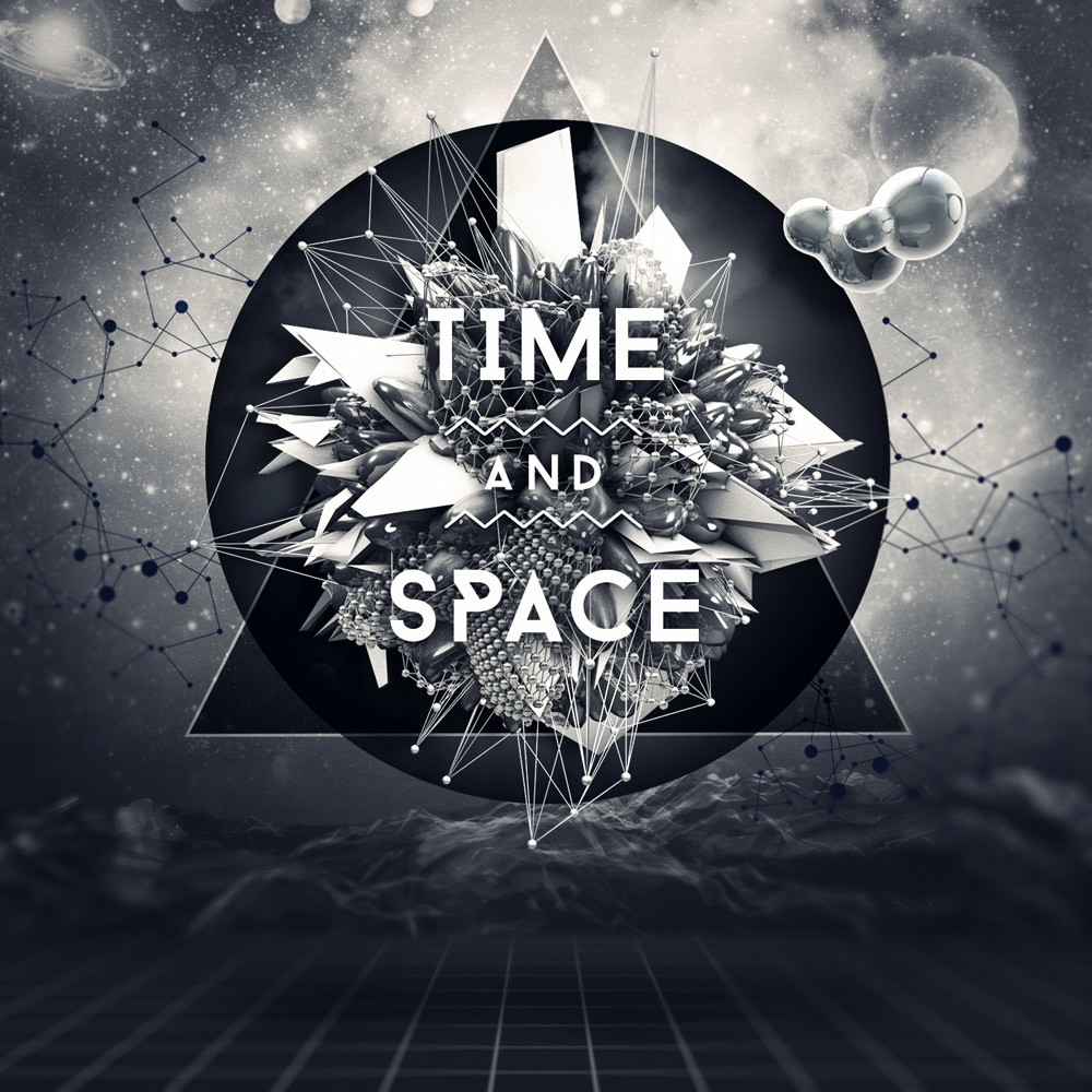 Space In Art And Design : Album cover design cd graphic for