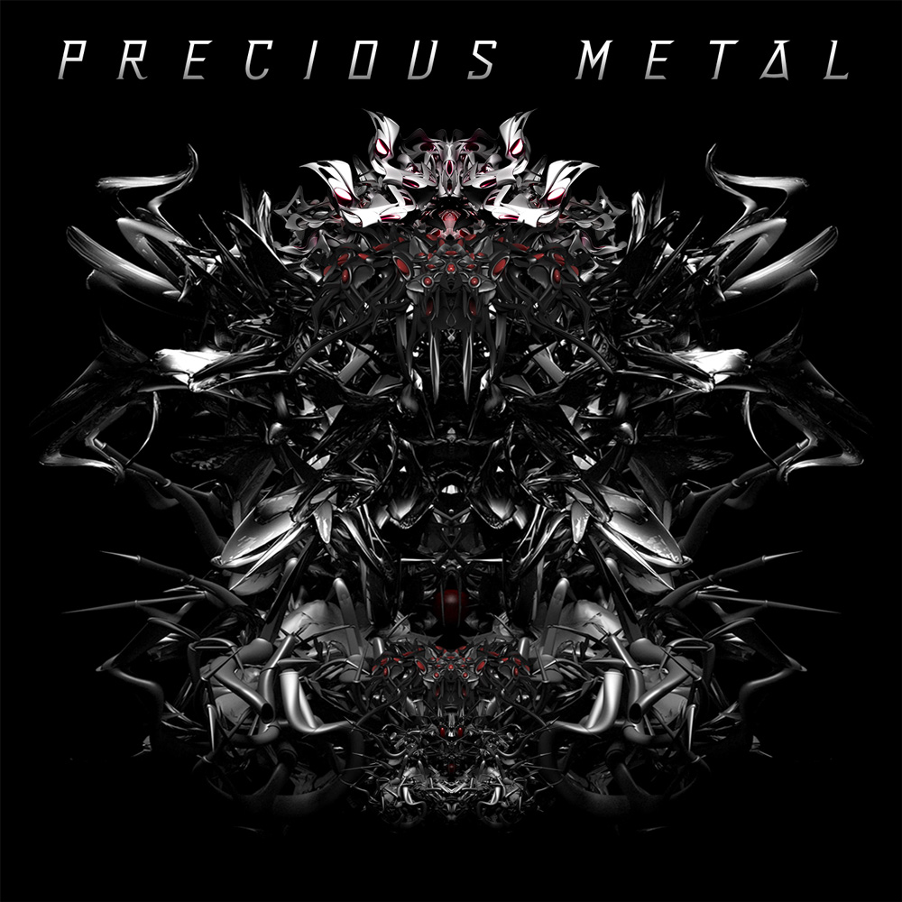 Precious metal album cover design