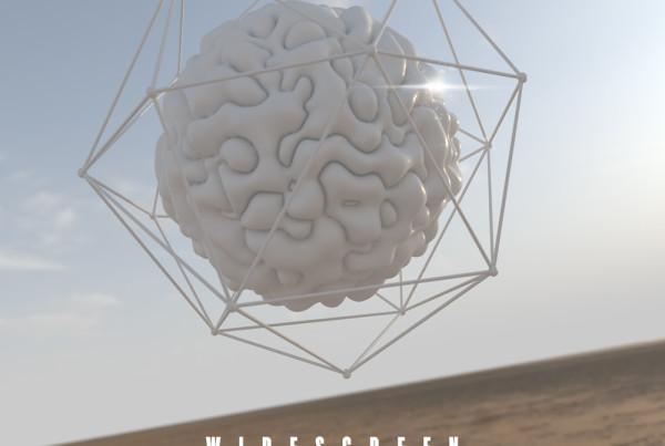 Minimal Organic trailer music album cover design