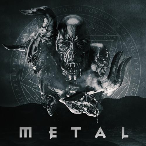 Hard Rock Death Heavy Metal album cover design