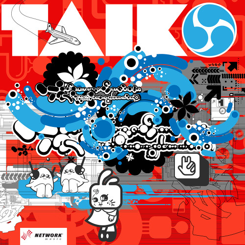 Taiko album cover design