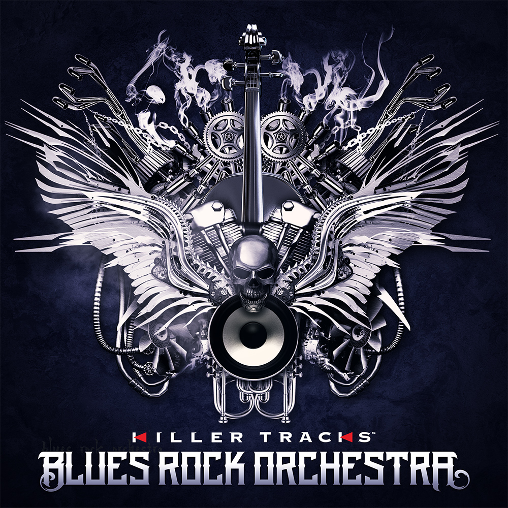 Blues Rock Orchestra album cover design