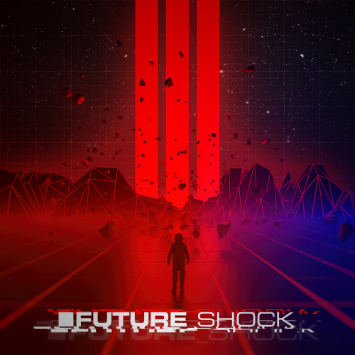 Future Shock trailer music album cover design