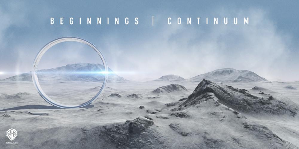Album cover design for gatefold vinyl orchestral album