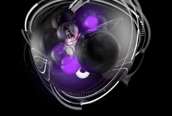 3D digital album cover artwork illustration EDM