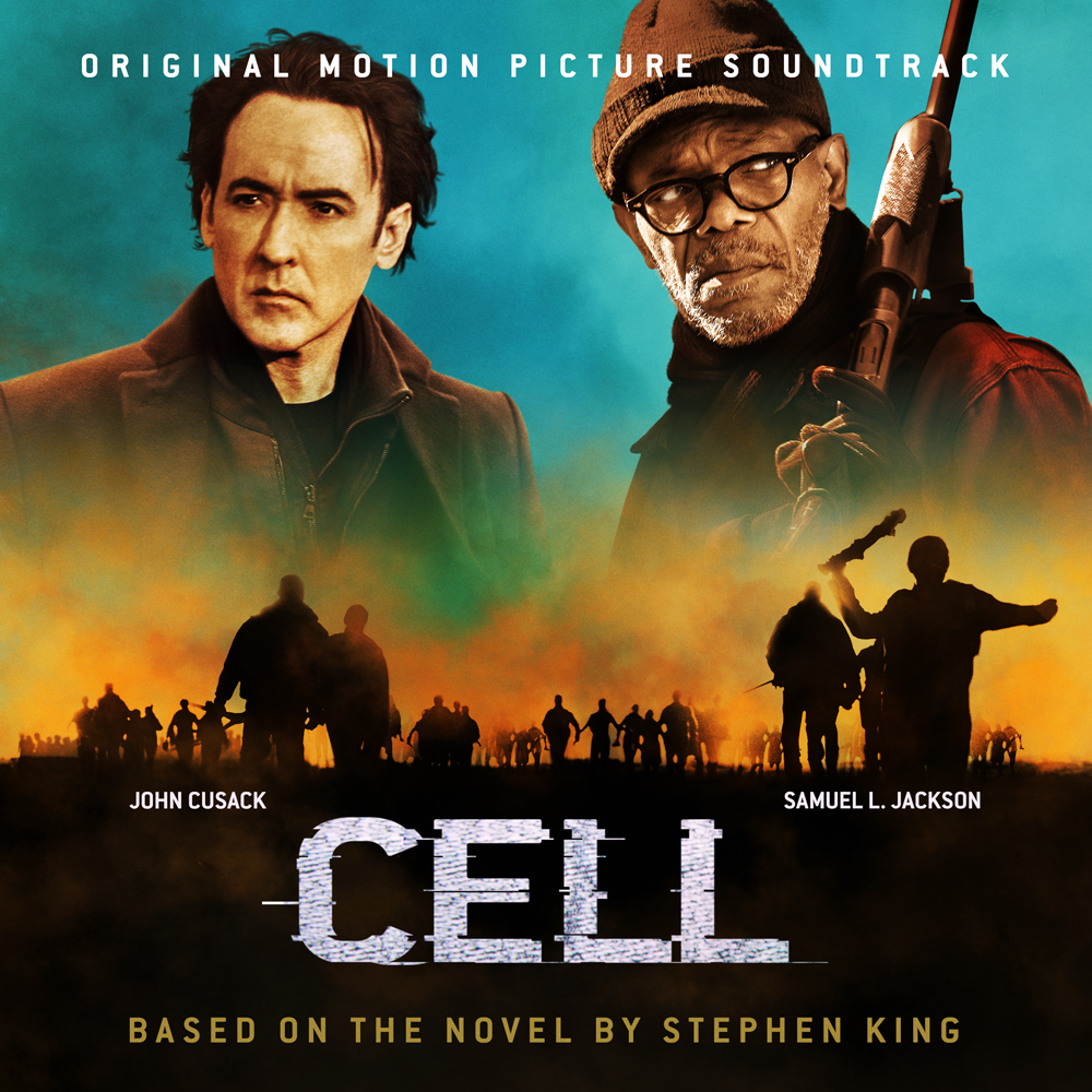 Cell soundtrack album cover design