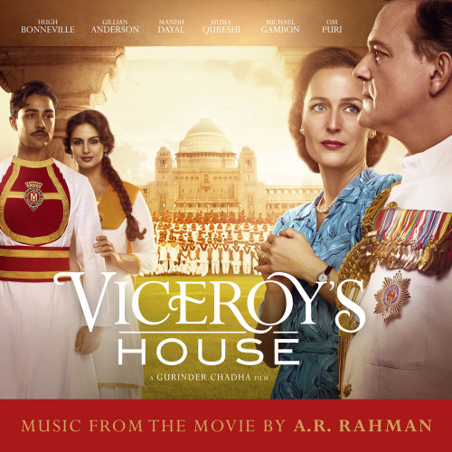 Viceroy's House movie soundtracks album cover design