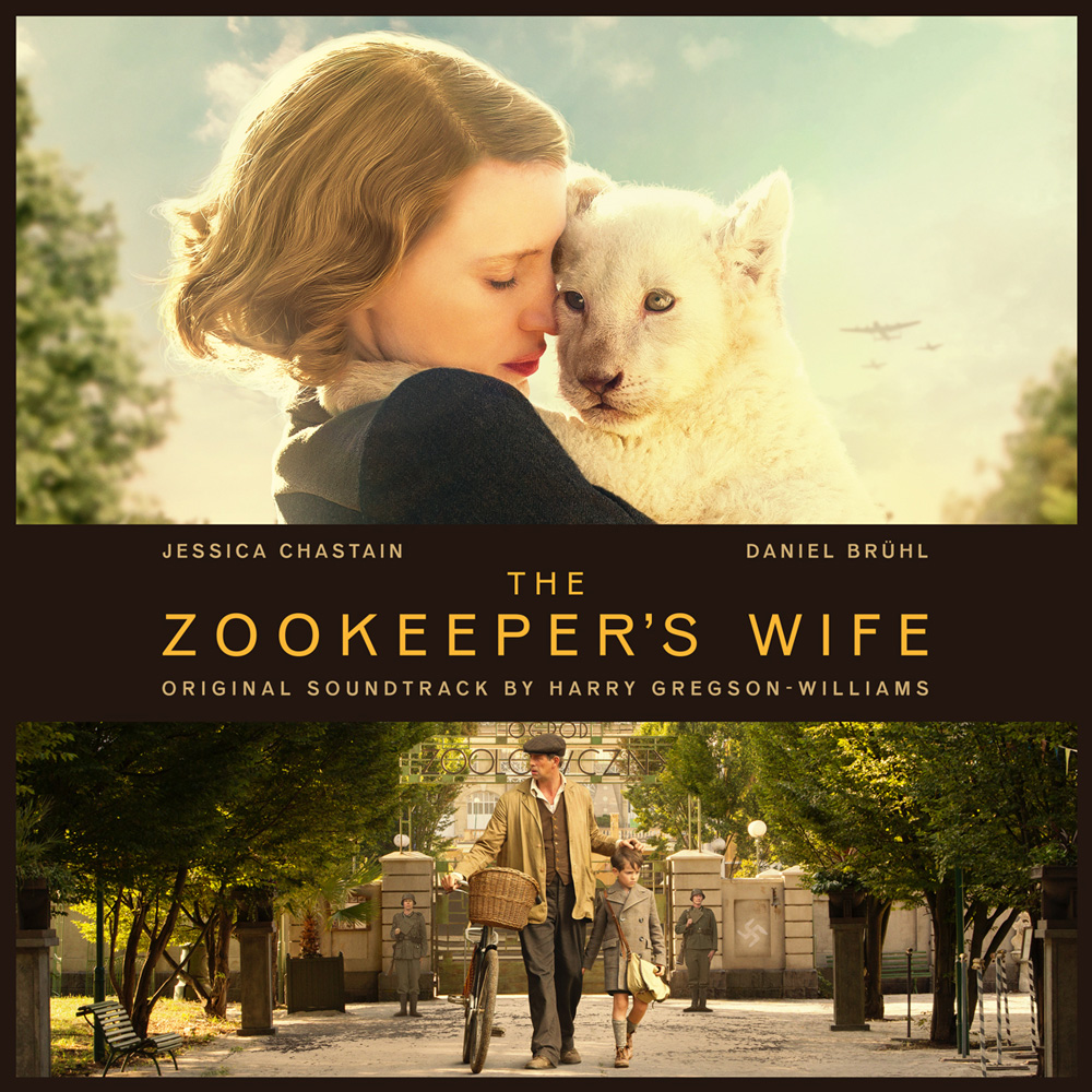 Zookeeper's Wife OST album cover design