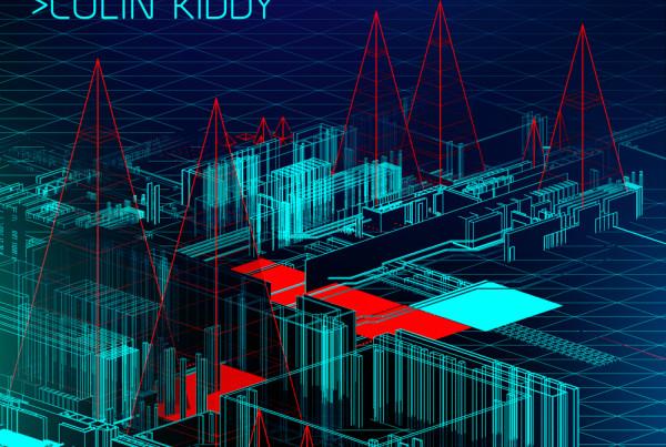 Global Tech 3D album cover design