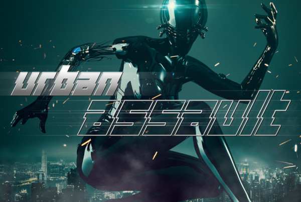 Urban Assault trailer music album cover design