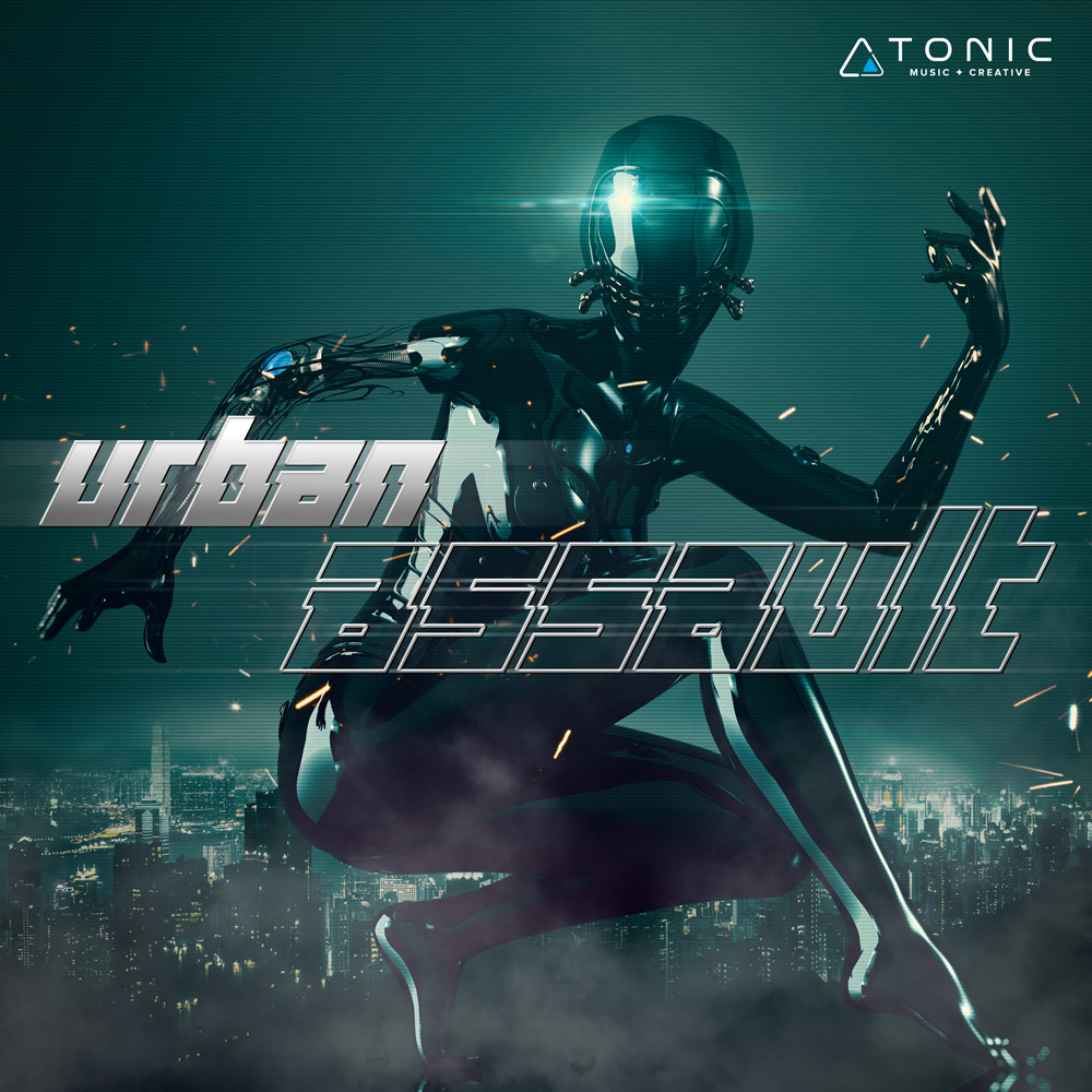 Urban Assault trailer music album cover design