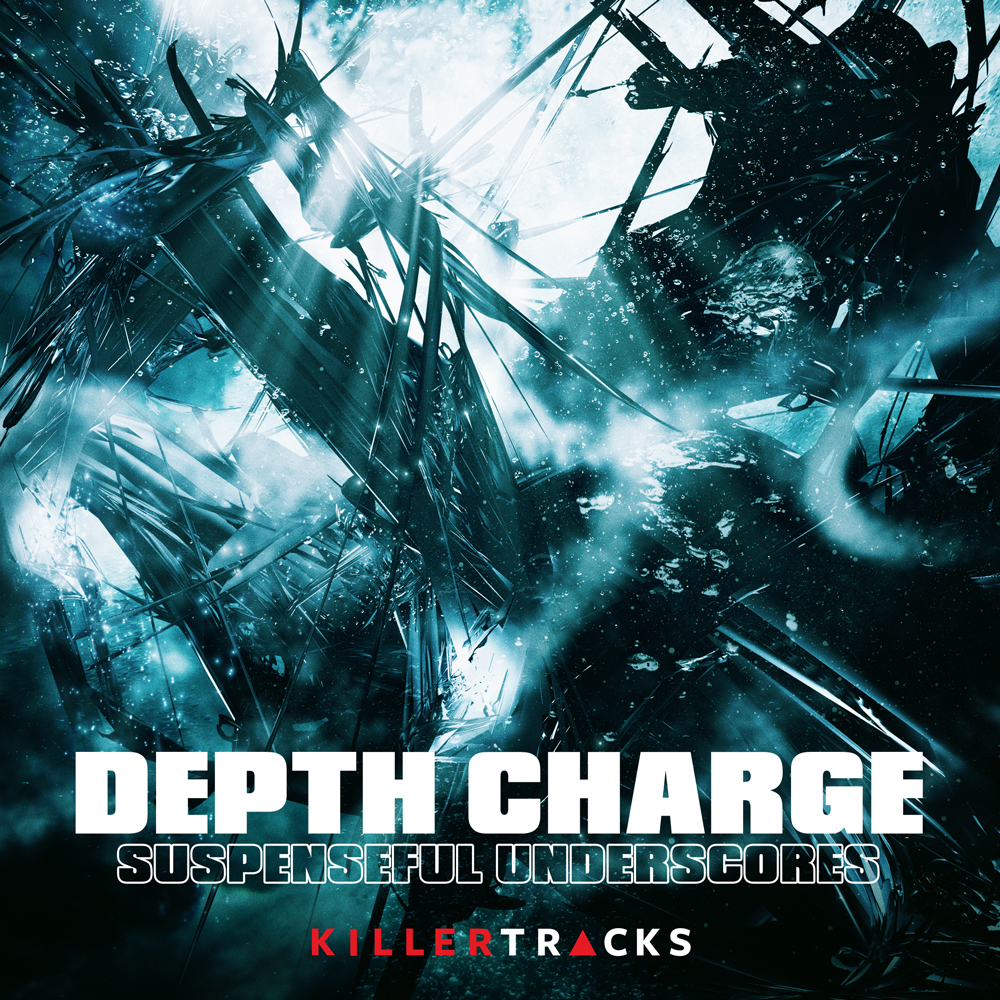 Depth Charge production music library music album cover desiign