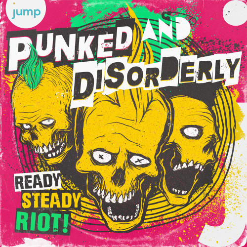Punk graphic design album cover artwork