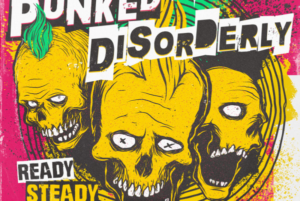 Punk graphic design album cover artwork