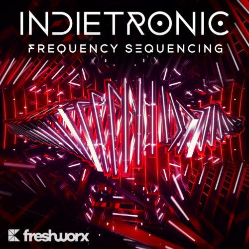 Indietronic indie electro edm album cover design