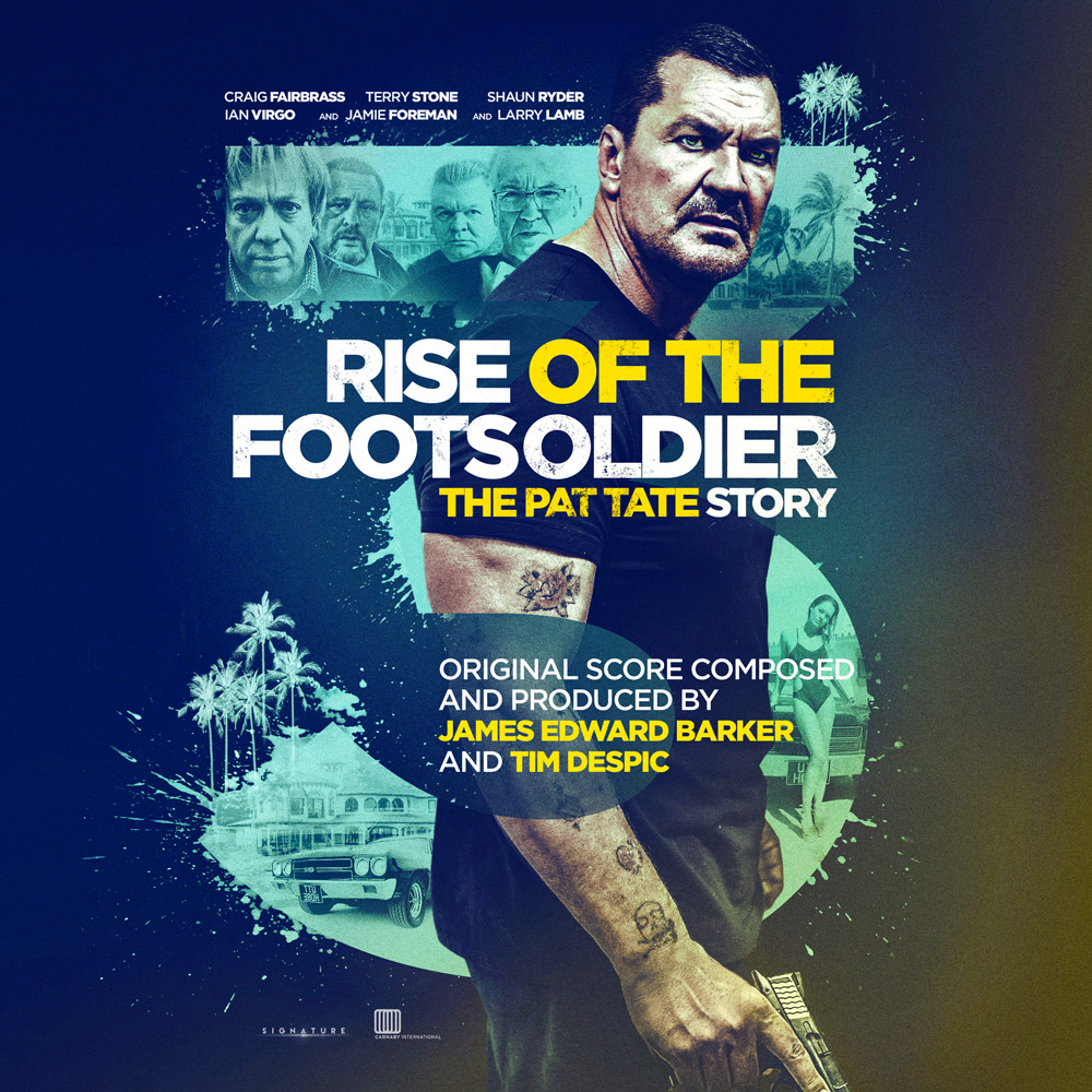 Rise of the Foot Soldier 3 movie soundtrack album cover design