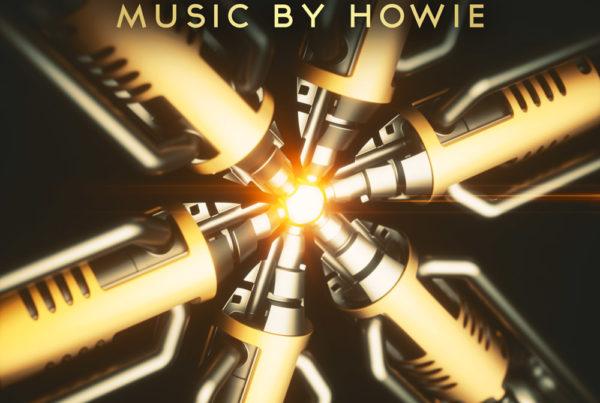 Achieve 3D library music album cover design
