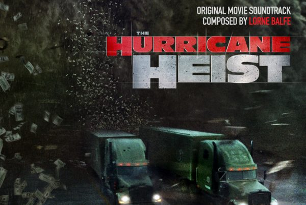 The Hurricane Heist movie soundtrack album cover design