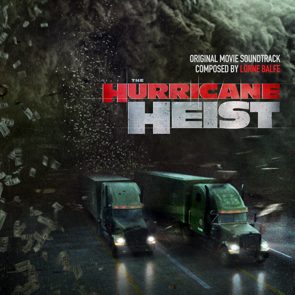 The Hurricane Heist movie soundtrack album cover design