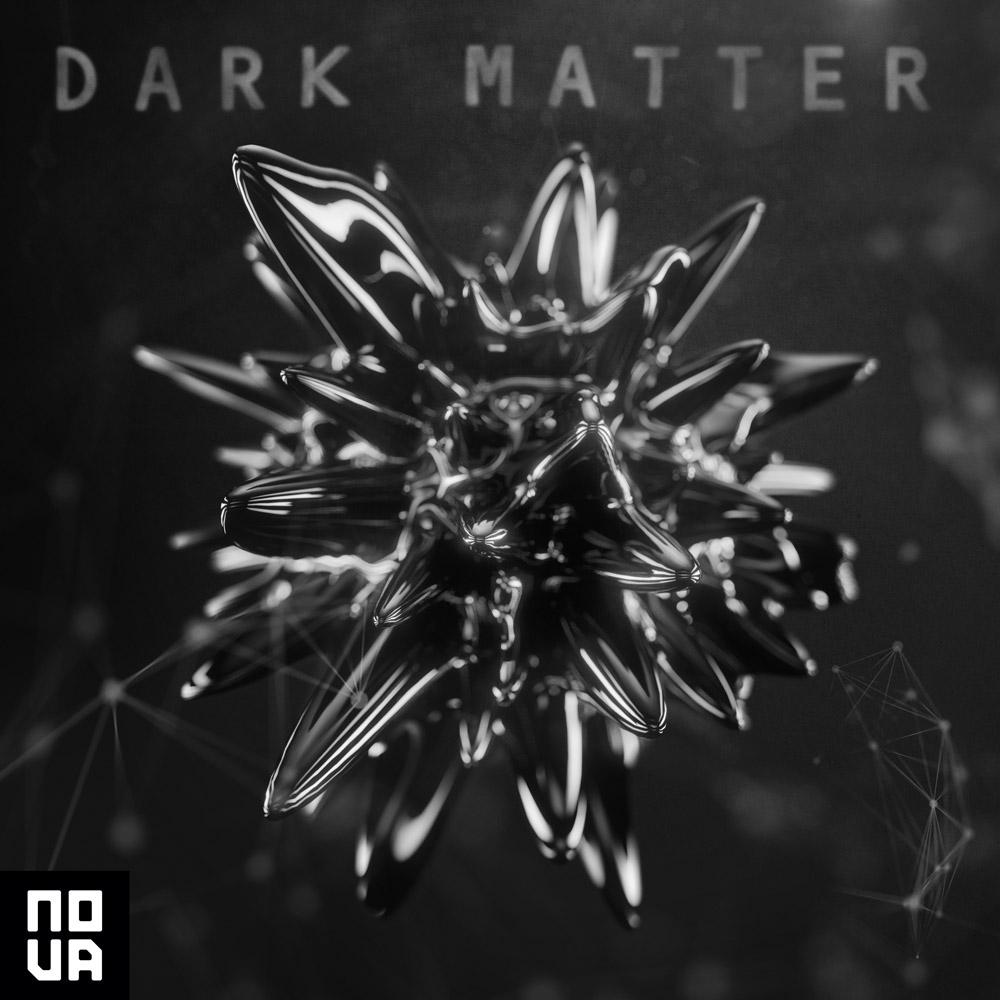Dark matter album cover illustration design