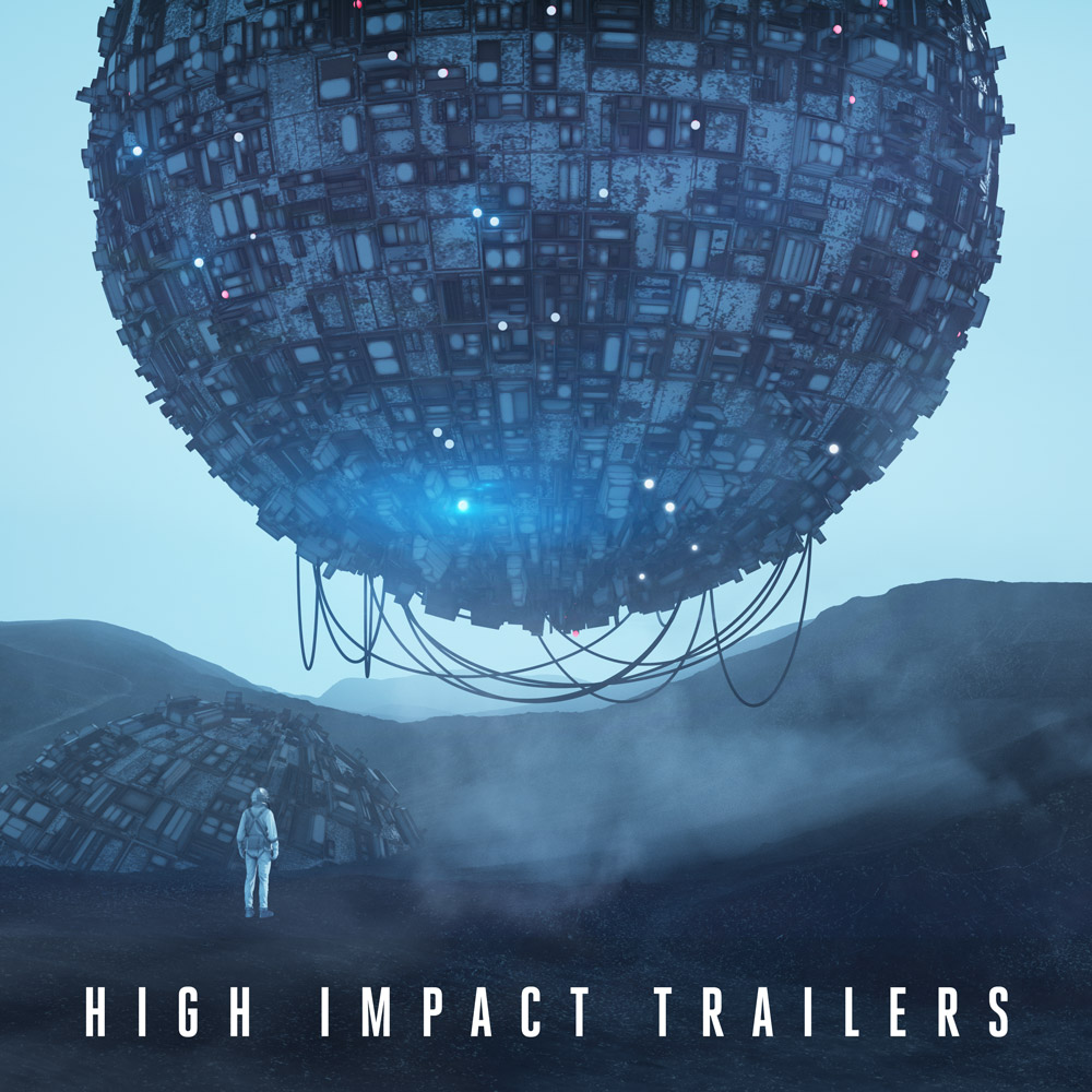 High Impact Trailers album cover illustration
