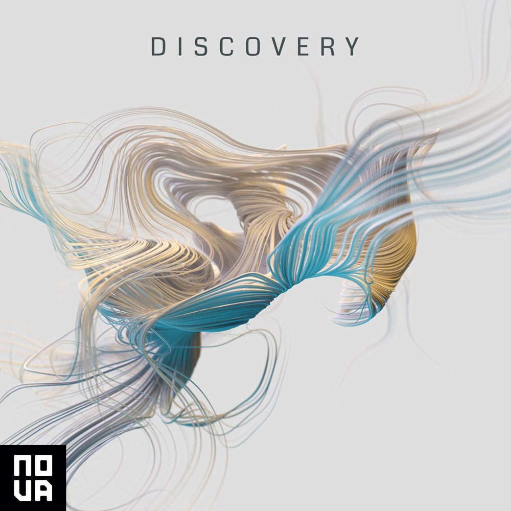 Nova Music library music album cover design