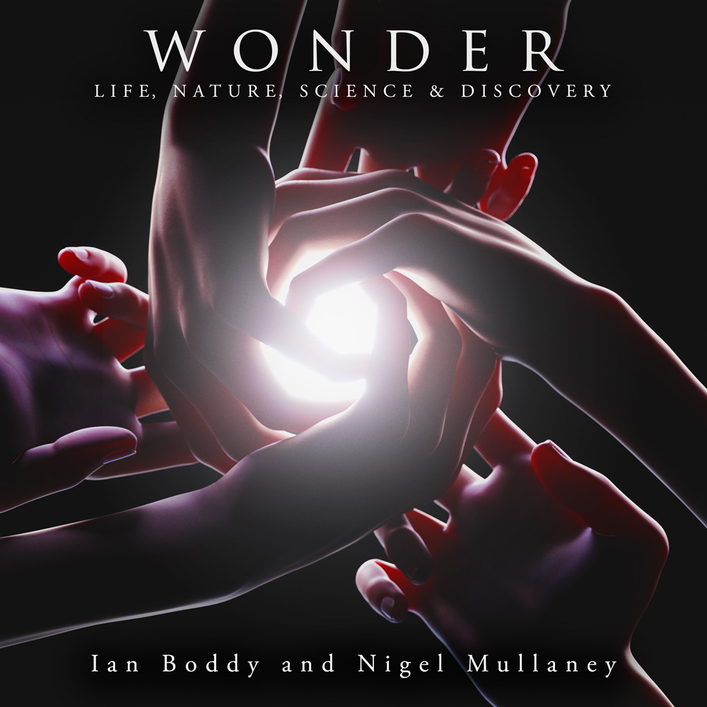 Wonder 3D digital album cover artwork design