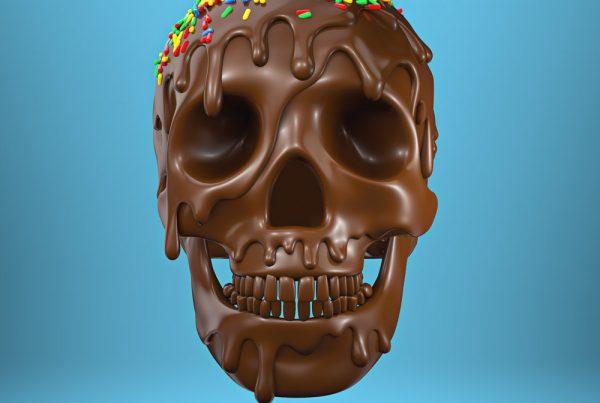3D digital album cover illustration design