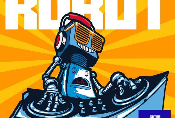I Am A Robot album cover design