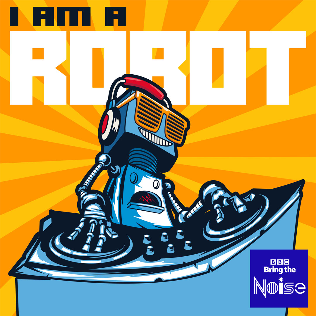 I Am A Robot album cover design
